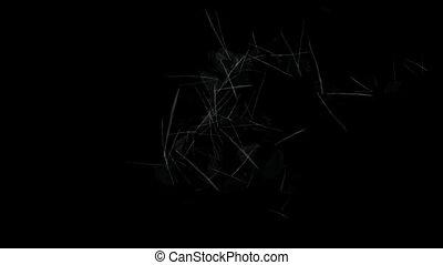 broken glass texture,falling glass