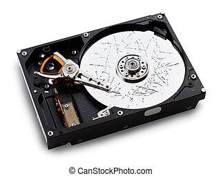 Broken hdd data loss - Information storage data loss -...