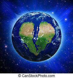 Broken Heart Earth