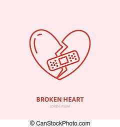 break up speech
