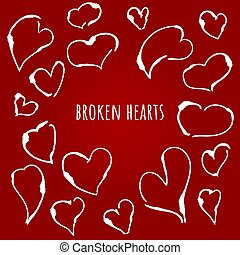 broken hearts, heartbreak