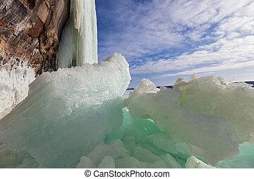 Broken Ice Curtains