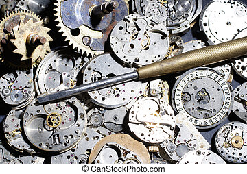 broken mechanical watches