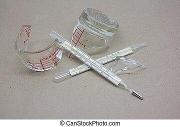 broken medical equipment