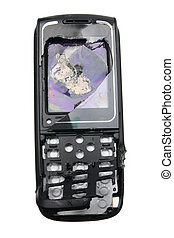Broken Mobile Phone