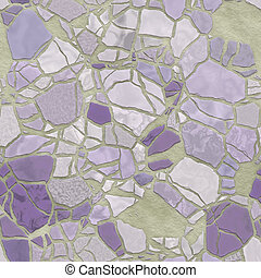Broken mosaic background texture - Broken stone mosaic ...