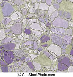 Broken mosaic background texture - Broken stone mosaic...