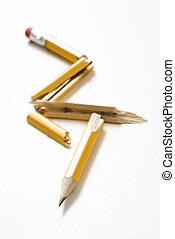 Broken pencil.