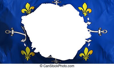 Broken Port Louis city flag - Broken Port Louis city, ...
