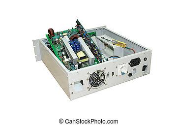 Broken power supply. - Uninterrupted Power Supply Computer...