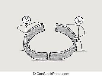 broken ring, divorce