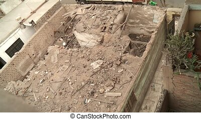 Broken Rooftop, Lima, peru - broken rooftop, Lima, Peru