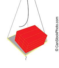 broken rope - construction concept