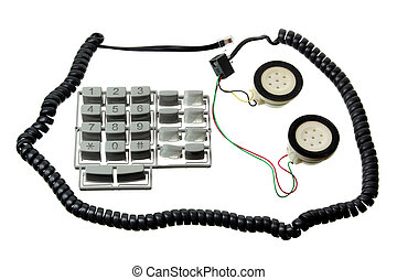 Broken Telephone Handset