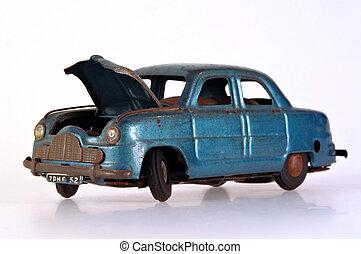 Broken Tin Toy Car
