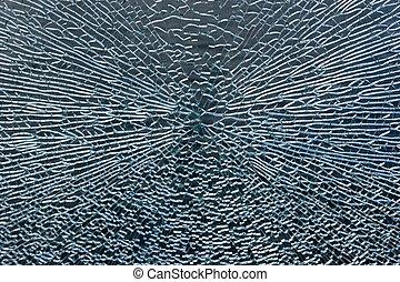 Broken Window Abstract Backgroud