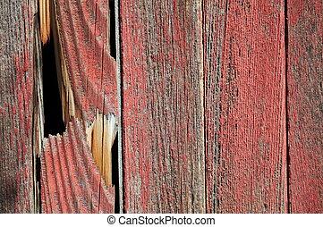 Broken Wood Siding