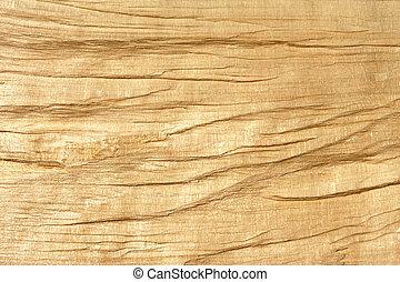 Broken wooden log