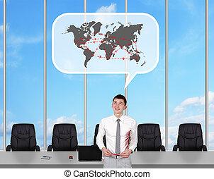 international flights - Broker dreaming of international...