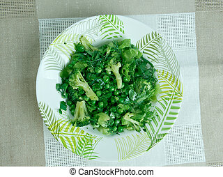 Brokoli Salatas? - Mediterranean salad.