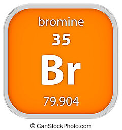 bromine, material, sinal