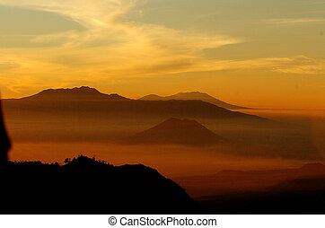 bromo - One morning at Mount Bromo, East Java, Indonesia