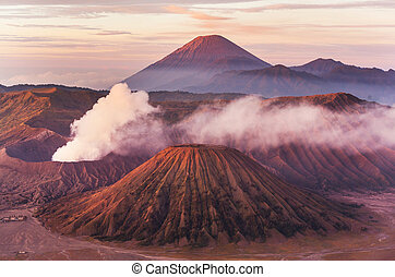 Bromo Volcano at Java, Indonesia