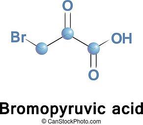 bromopyruvate, acide, bromopyruvic