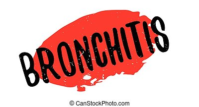 Bronchitis rubber stamp