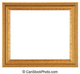 brons, antieke , frame