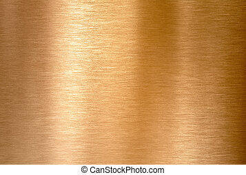 brons, koper, achtergrond, metaal, of, geborstelde, textuur