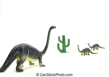 Brontosaurous Family