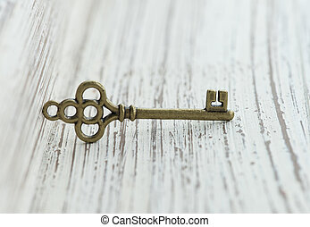 bronz, medál, forma, key.