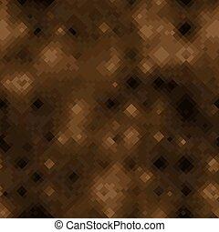 Bronze and dark brown halftones camouflage seamless vector background texture