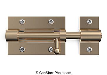 bronze barrel bolt