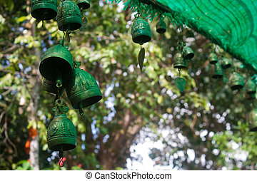 Bronze bells in Thailand