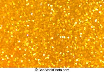 Bronze bright blur glitter background