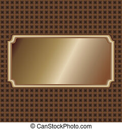 bronze-label