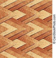 Bronze metallic seamless pattern