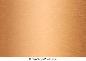 bronze or copper brushed metal texture