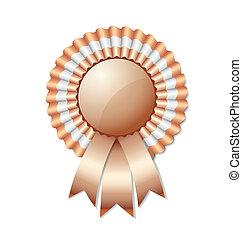 Bronze rosette