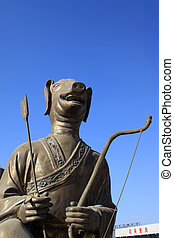 bronze sculpture totem
