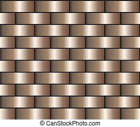 Bronze gradient pattern - Bronze seamless background in the...