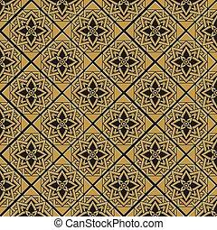Bronze seamless pattern