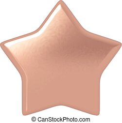 Bronze star.