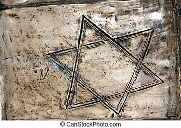 Bronze Star of David
