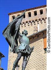 bronze statue monument