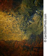 Bronze texture background.