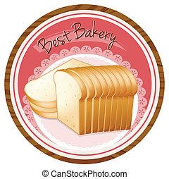 brood, brood, bakkerij, best, etiket
