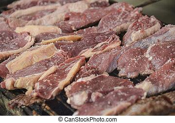 brood, van, rundvlees